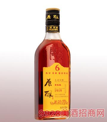 500ml原酿金标六年陈绍兴酒