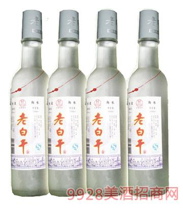 42°白标磨砂老白干248MLx18,500MLx12酒