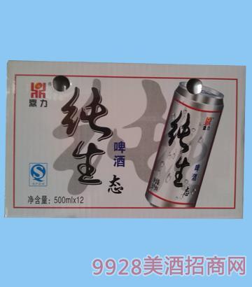 纯生态啤酒