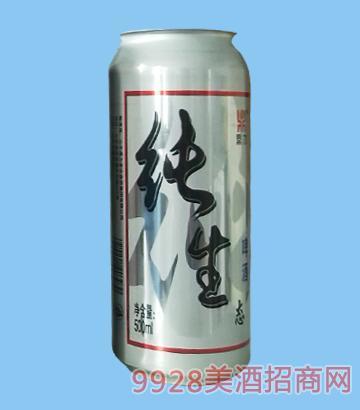 纯生态啤酒罐装
