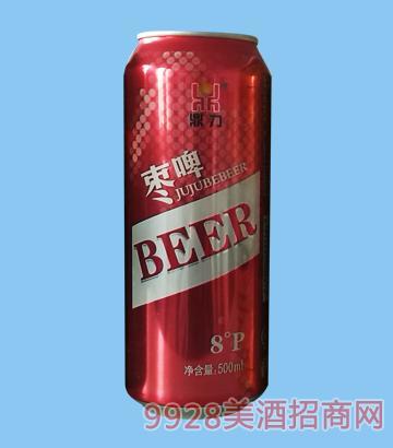 鼎力枣啤500ml啤酒