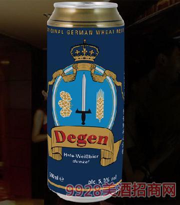 德劲小麦黑啤酒