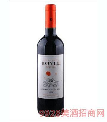 智利柯莱窖藏赤霞珠干红葡萄酒750ml