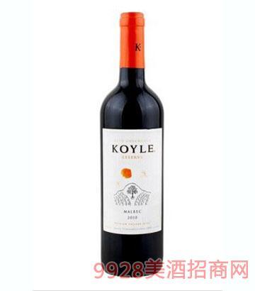 智利柯萊窖藏馬爾貝克干紅葡萄酒