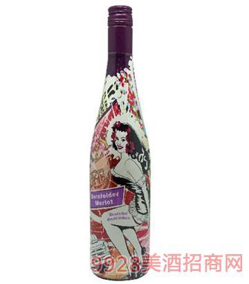 疯狂生活半甜白葡萄酒