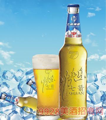 快乐七箭冰纯啤酒450ml