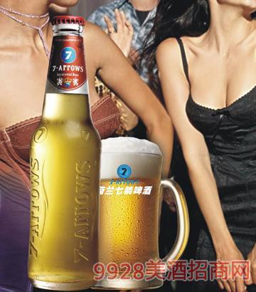 荷兰七箭冰晶啤酒300ml