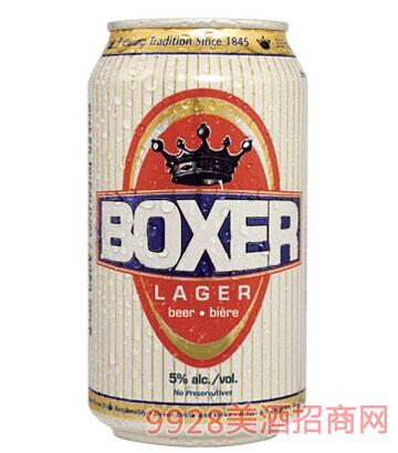拳击手淡啤酒