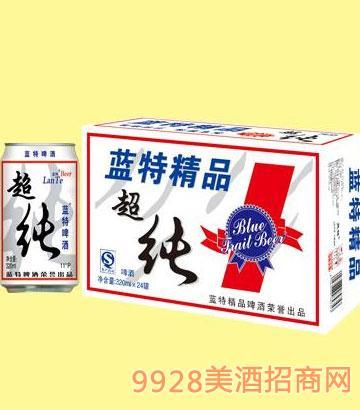 蓝特精品超纯啤酒 320ml×24