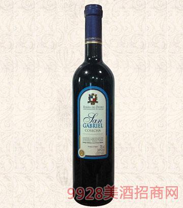 2012年圣加貝爾紅葡萄酒