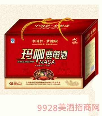 1X6瓶瑪咖鹿龜酒(B28)500ML