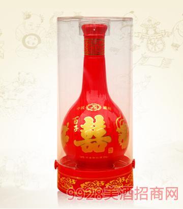 38°52°百子囍 浓香型酒