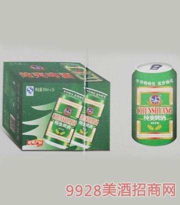 纯爽啤酒320mlx24罐