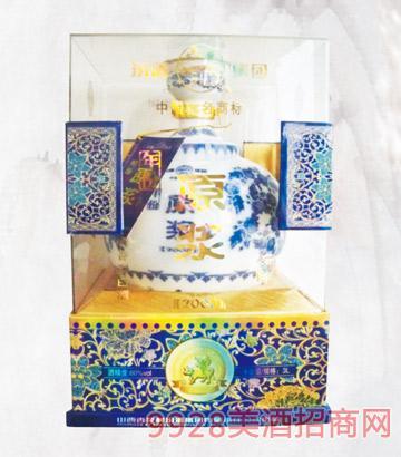 60度年份一坛香酒3000mlx2清香型