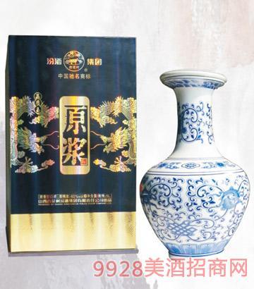 60度青花龙纹原浆酒5L清香型
