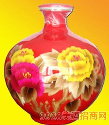 花开富贵-红酒