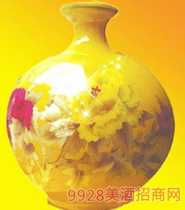 花开富贵-黄酒