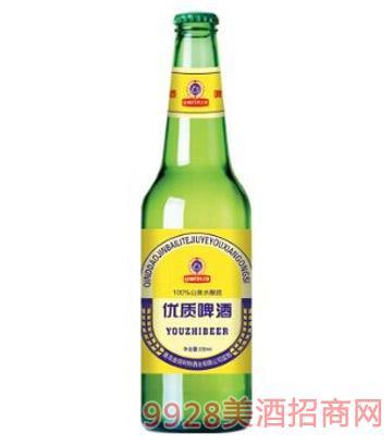 优质啤酒500ml绿瓶