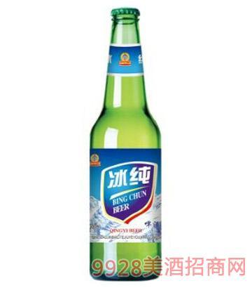 冰纯啤酒330ml绿瓶