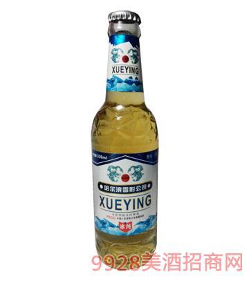 雪影冰纯啤酒