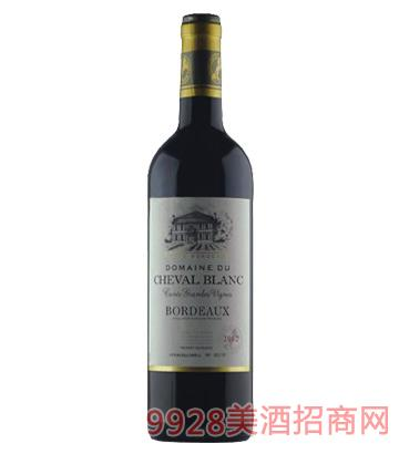 爱白马世家干红葡萄酒