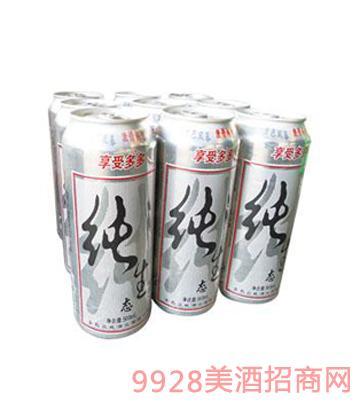 022纯生啤酒 500mlx9