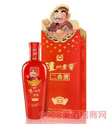 泸州老窖集团二曲财主-金版酒
