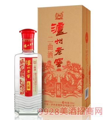 泸州老窖集团二曲礼顺-红装酒
