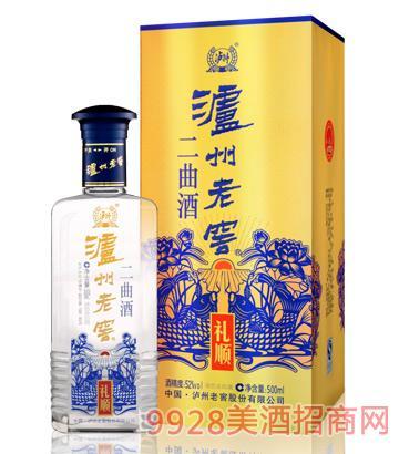 泸州老窖集团二曲礼顺-蓝装酒