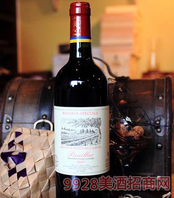 法国-波雅克酒庄干红葡萄酒