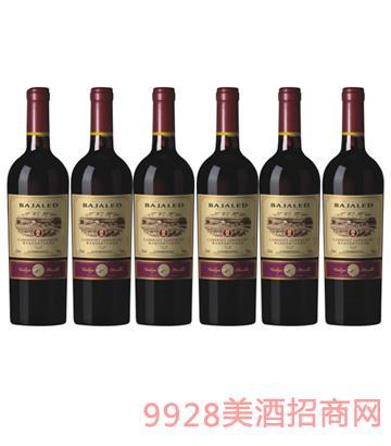 橡木桶蛇龙珠干红葡萄酒750ml