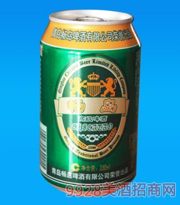 畅岛啤酒(330ml易拉罐)