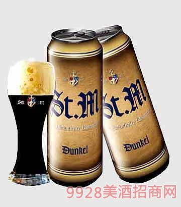 5.0°斯特曼黑啤500ml啤酒