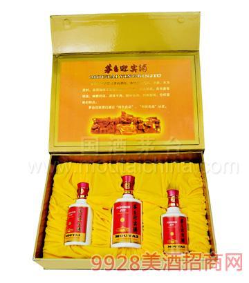 茅台迎宾酒(礼盒375ml+2x200ml)
