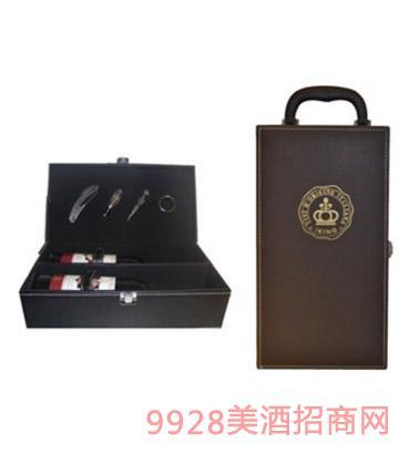 雙支裝皮禮盒單支裝皮禮盒葡萄酒