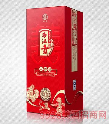 西江贡新喜酒500ml米香型