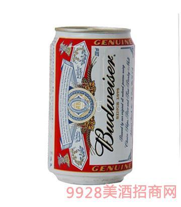 330ml百威啤酒