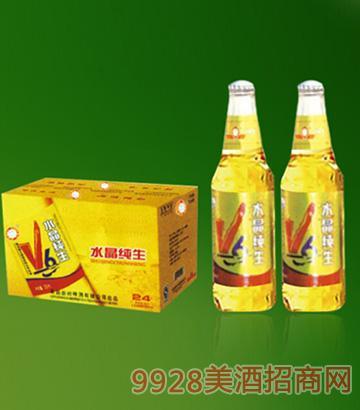 优质品牌小瓶小麦王啤酒330ml