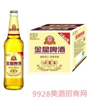 金星啤酒小麦480ml