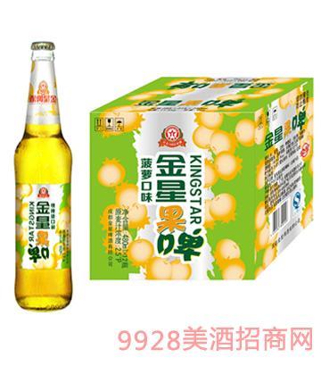 金星啤酒菠萝味果啤480ml