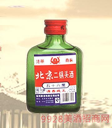 56°北京二锅头酒(蓝瓶)100ml