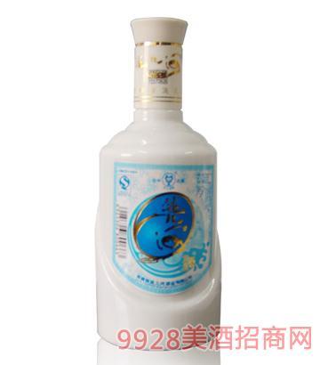 洮儿河酒通化瓷瓶