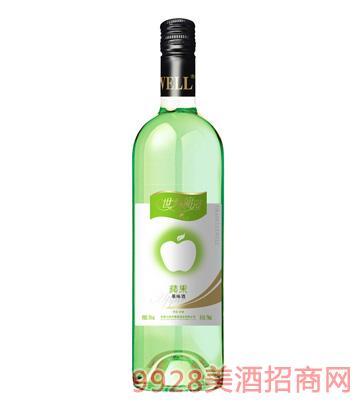 8°世外葡园苹果味果酒750ml