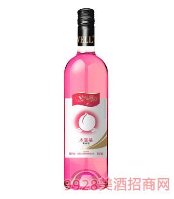 8°世外葡园水蜜桃味果酒750ml