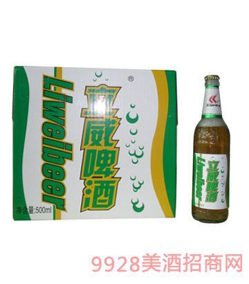 立威啤酒盒装 500ml
