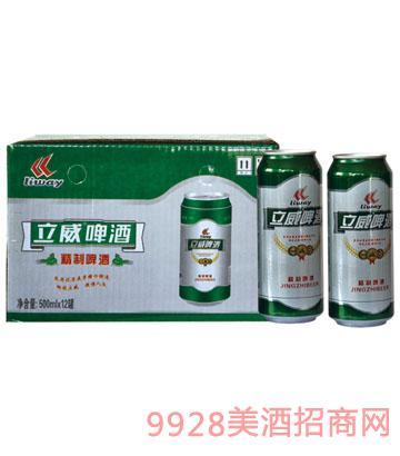 威啤酒精制箱装500X12罐