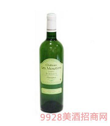 雷慕丹酒庄干白葡萄酒12°