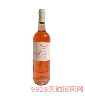 嘉咏酒庄上等波尔多大区AOC玫瑰红葡萄酒