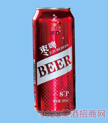 鼎力枣啤8°P 500ml啤酒