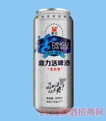 鼎力活啤酒原�{型清爽型